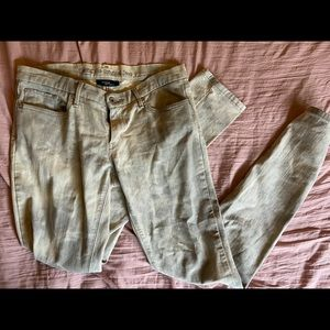Acid washed Levi's